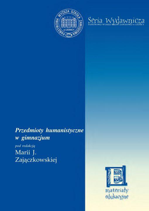 Przedmioty humanistyczne w gimnazjum